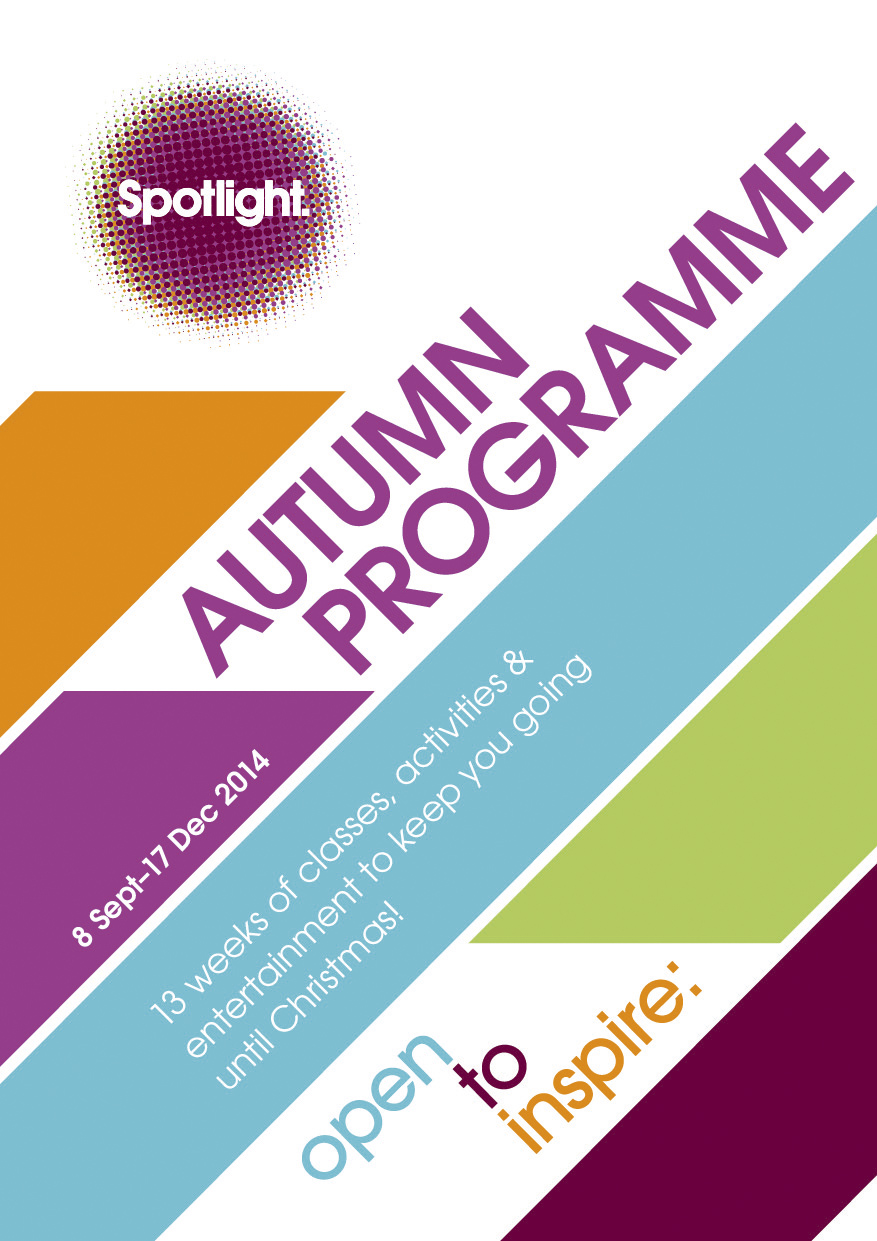 Autumn 2014 Programme Goes Live! Sign up now!