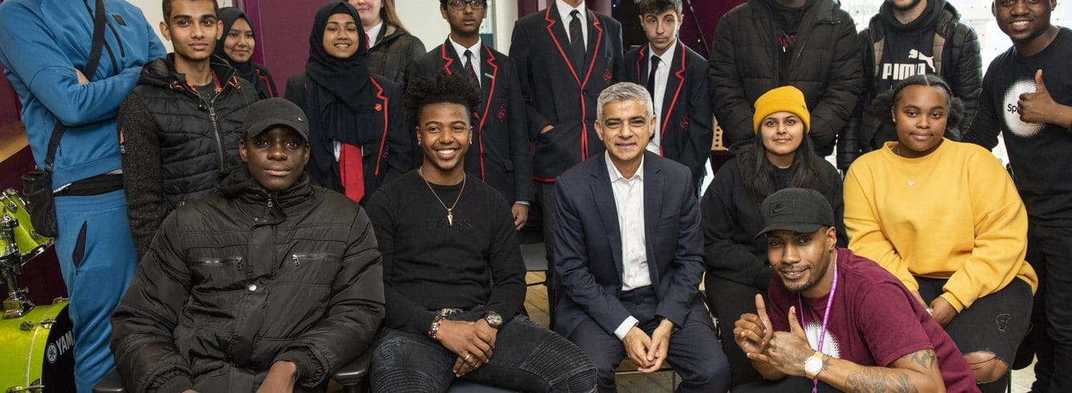 Behind the scenes: The Mayor of London's visit
